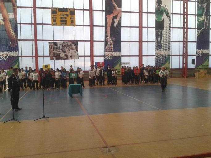 PRIMEROS JUEGOS DEPORTIVOS CONGREGAN A LOS LICEOS BICENTENARIO DE LA REGIÓN METROPLITANA