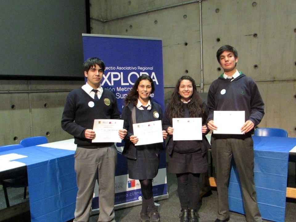 Primer lugar obtenido por los estudiantes del liceo en el Torneo interescolar de debate en ciencia y tecnología.