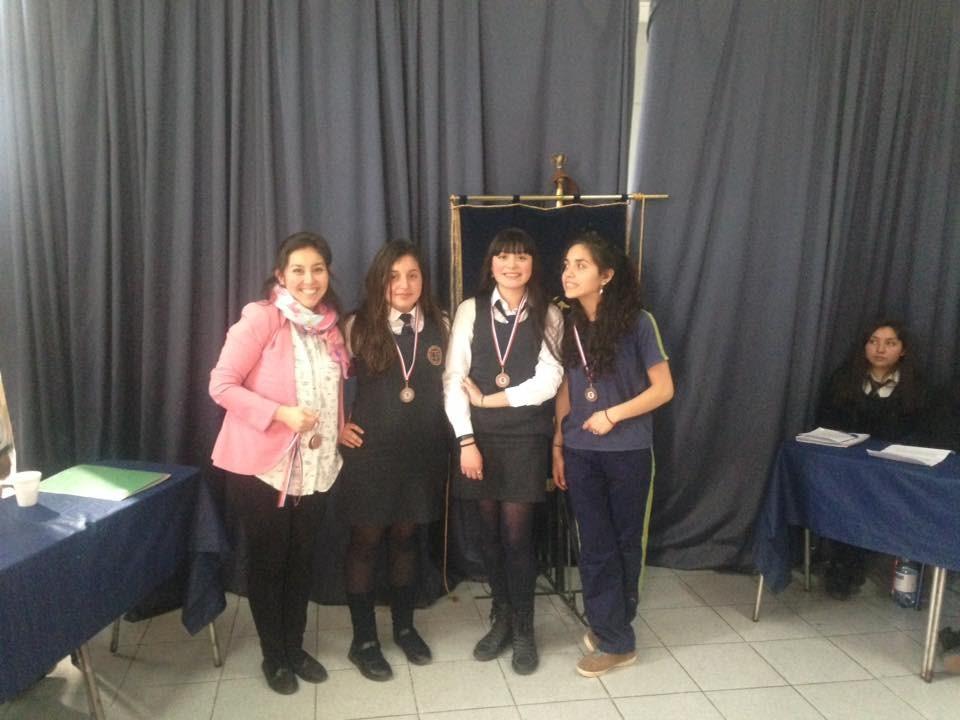 LBT obtiene tercer lugar debates Liceos Bicentenario de la Región Metropolitana