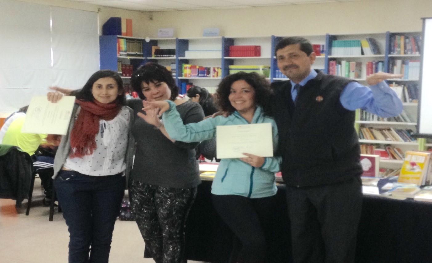 Docentes del LBT reciben certificados de capacitación