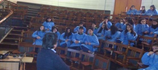 ESTUDIANTES DEL LBT VISITAN EL LABORATORIO DE ANATOMÍA DE LA UNIVERSIDAD DE CHILE