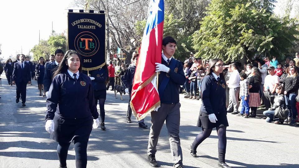 LBT CONMEMORA UN NUEVO ANIVERSARIO DE LAS GLORIAS NAVALES CON DESTACADA PARTICIPACIÓN EN DESFILE  CÍVICO – MILITAR.