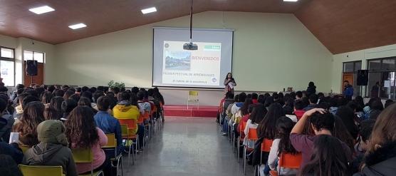 PRIMER FESTIVAL DE APRENDIZAJES EN LICEO BICENTENARIO DE TALAGANTE