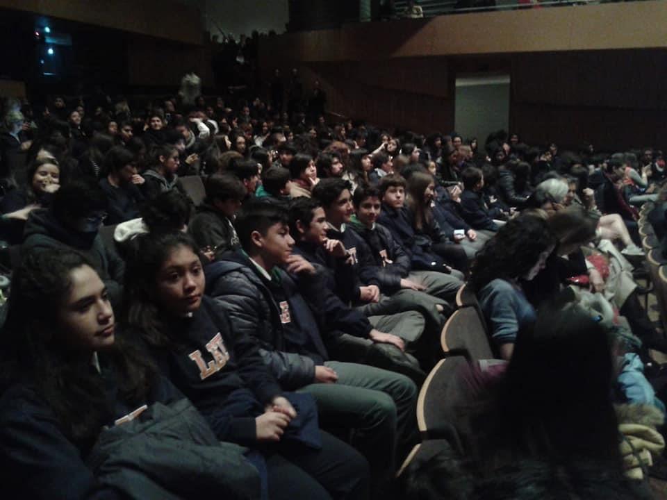 Estudiantes de la Orquesta LBT asisten a Presentación de Sinfónica Juvenil Europea