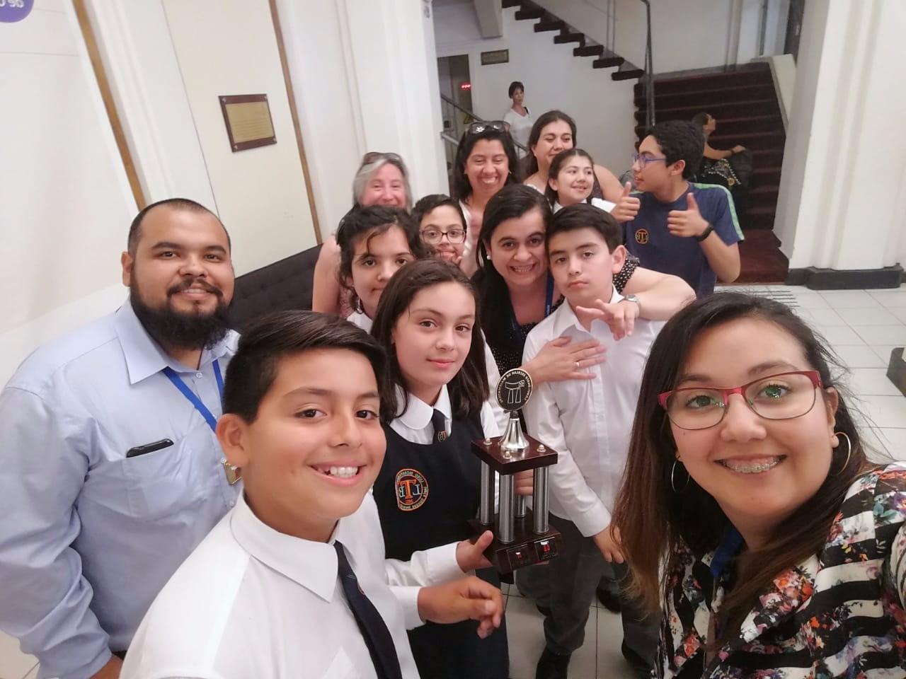 ESTUDIANTES DEL LBT OBTIENEN IMPORTANTE LUGAR A NIVEL NACIONAL EN TORNEO CMAT DE LA UNIVERSIDAD DE SANTIAGO DE CHILE