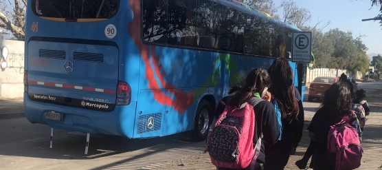 ESTUDIANTES BENEFICIADOS CON SERVICIO DE TRANSPORTE ESCOLAR 2019 (INFO. ACTUALIZADA)