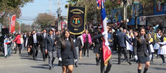 GRAN PRESENTACIÓN DEL LBT EN DESFILE CONMEMORATIVO A LAS FIESTAS PATRIAS