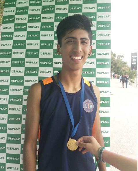 Estudiante del LBT compitirá en el Campeonato Nacional Mayores y Grand Prix en Uruguay