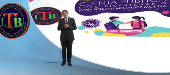 GRAN CUENTA PÚBLICA DEL LICEO BICENTENARIO DE TALAGANTE EN EL CONTEXTO DE PANDEMIA MUNDIAL