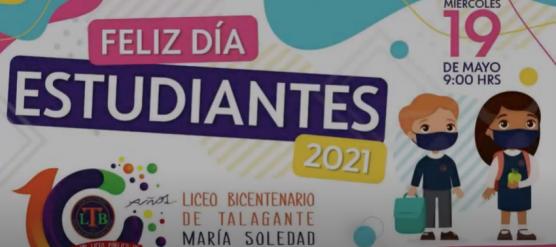 LICEO BICENTENARIO DE TALAGANTE CELEBRA EL DÍA DEL ESTUDIANTE