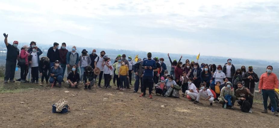 """COMUNIDAD LBT REALIZA """"CAMINATA FAMILIAR ECOLÓGICO: SIN HUELLAS"""""""